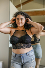 Load image into Gallery viewer, Little Black Bralette