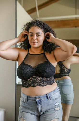 Little Black Bralette