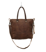 Load image into Gallery viewer, Button & Stitches Leather Bag