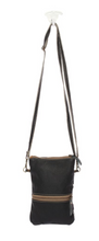 Load image into Gallery viewer, Black and White Cross Body Bag