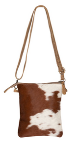 Leather Lithe Hair-on Bag