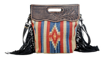 Load image into Gallery viewer, Impactful Hand-Tooled Bag