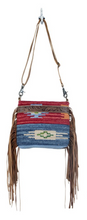 Load image into Gallery viewer, Sunset Hand-Tooled Bag