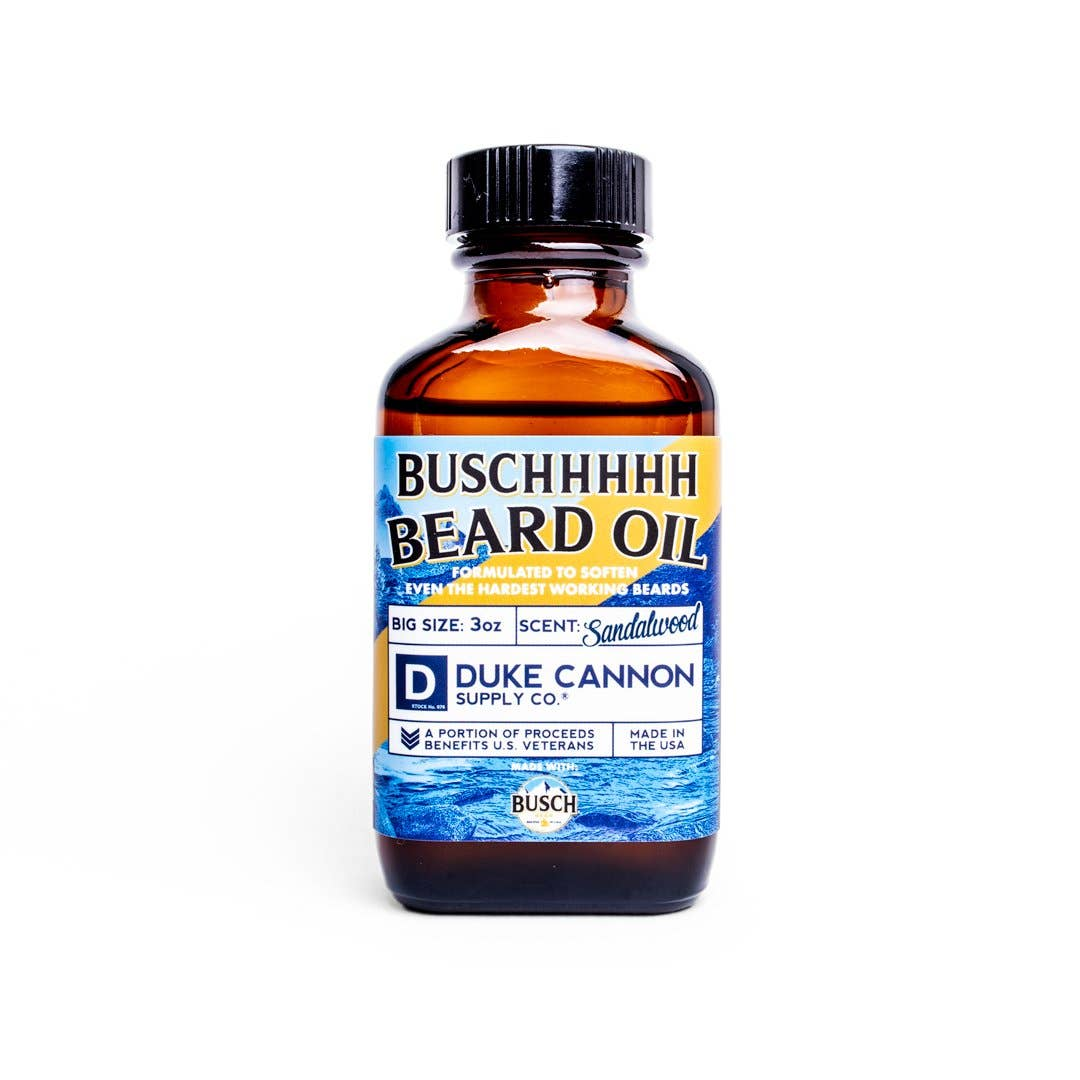 Duke Cannon- Busch Beard Oil