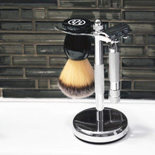 Load image into Gallery viewer, Rockwell Razors Shave Stand (White Chrome)