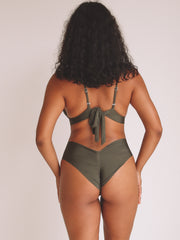 Lagoon Bottom - Khaki Ribbed