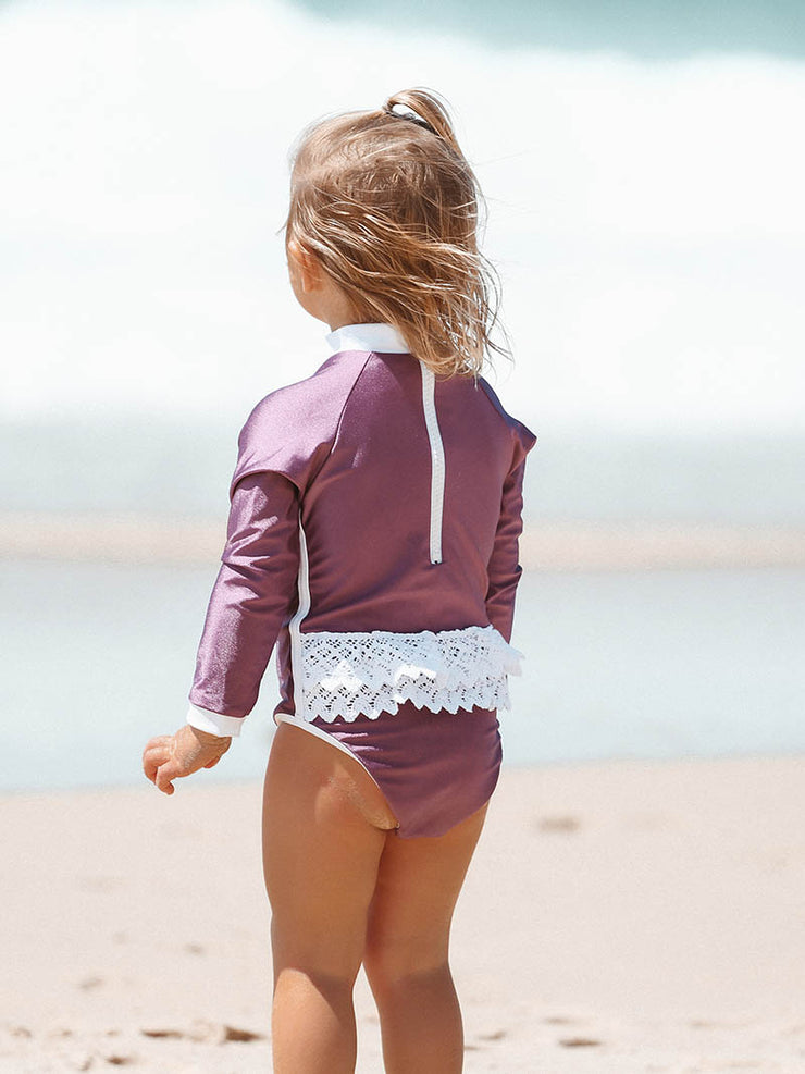 Shell One Piece - Mauve