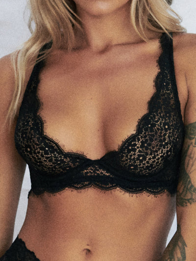 Loveletter Bra - Black