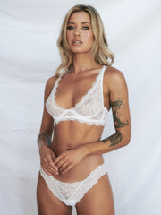 Loveletter Bra - White