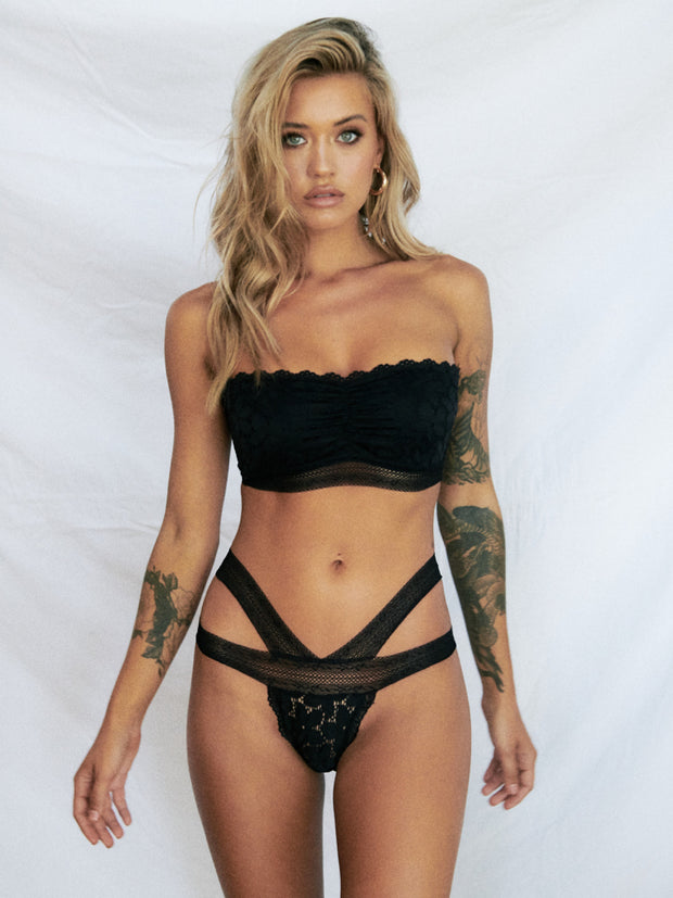 Promises Bandeau - Black