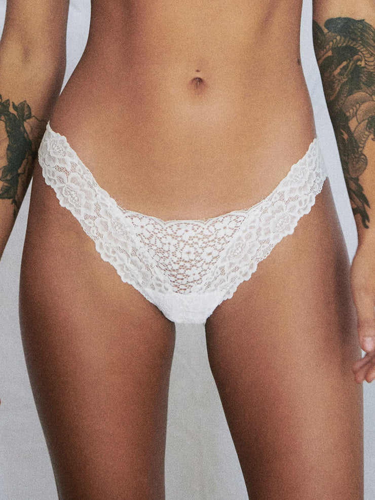 Datenight Panty - White