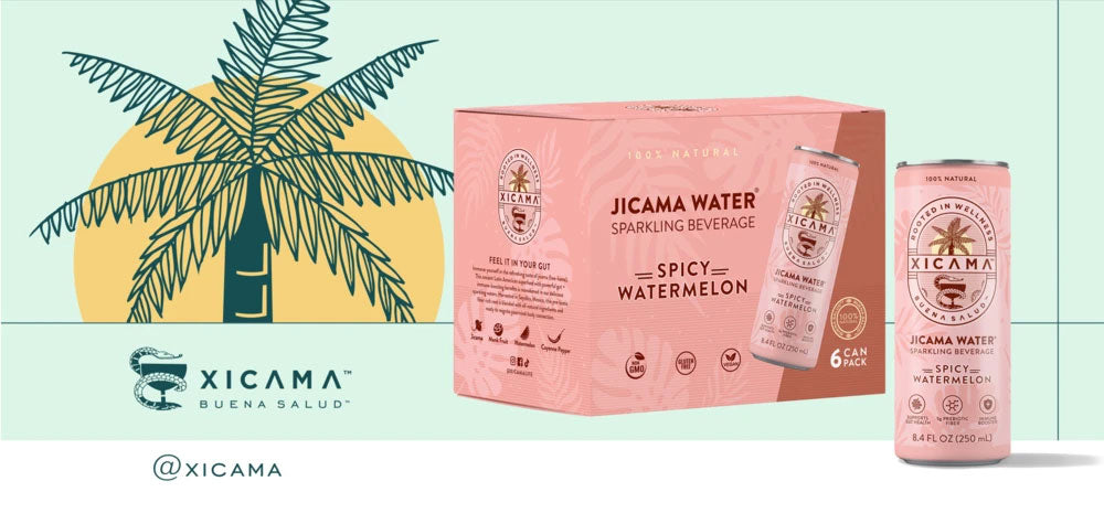 Xicama Spicy Watermelon Sparkling Water