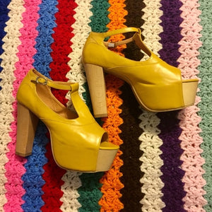 Jeffery Campbell Platform Shoes