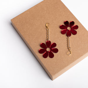 The Hazey Dazey Chain Earrings,EarringMindFlowers
