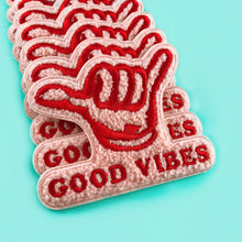 Load image into Gallery viewer, Good Vibes Chenille Patch,FlairMindFlowers