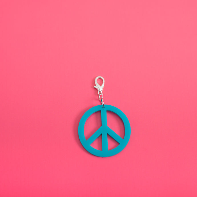 Peace Sign Belt Charm,BeltMindFlowers