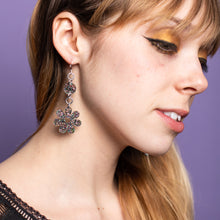 Load image into Gallery viewer, The Baby Hazey Dazey Dot & Chain Earrings,EarringMindFlowers