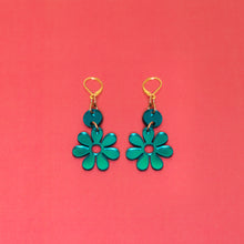 Load image into Gallery viewer, The Hazey Dazey Dot & Chain Earrings