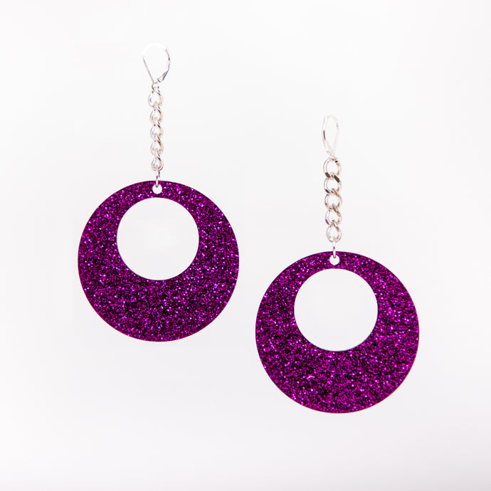 Oh Mod! Chain Earrings,EarringMindFlowers