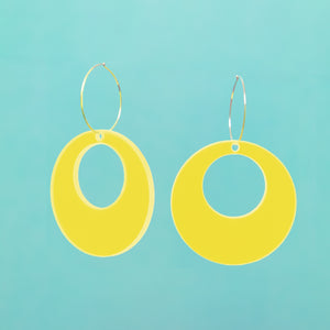 Oh Mod! Hoop Earrings,EarringMindFlowers
