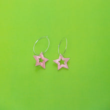Load image into Gallery viewer, Starception Hoop Earring,EarringMindFlowers