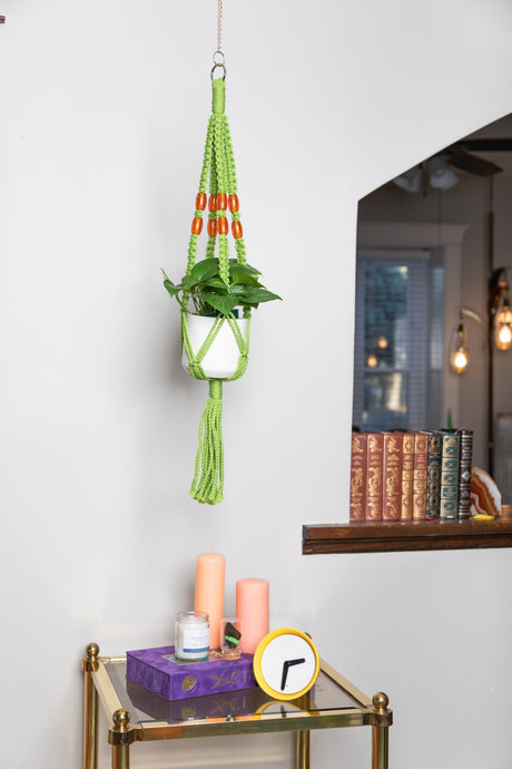 The Meadow Macrame Plant Hanger