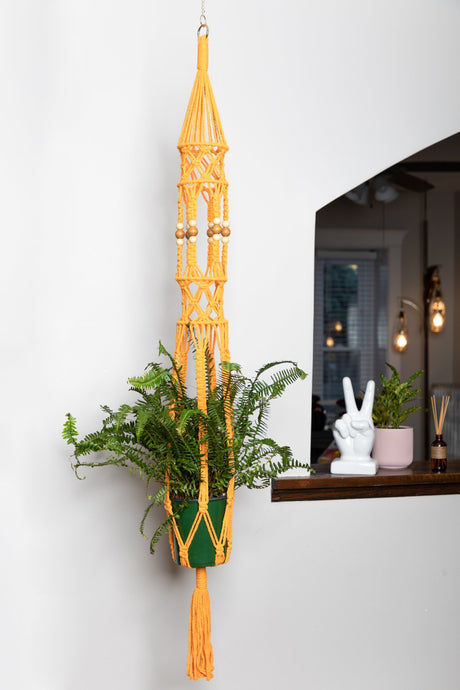 The Goldie Macrame Plant Hanger