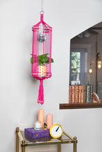 Load image into Gallery viewer, The Diana Disco Macrame Plant Hanger