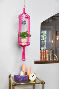 The Diana Disco Macrame Plant Hanger