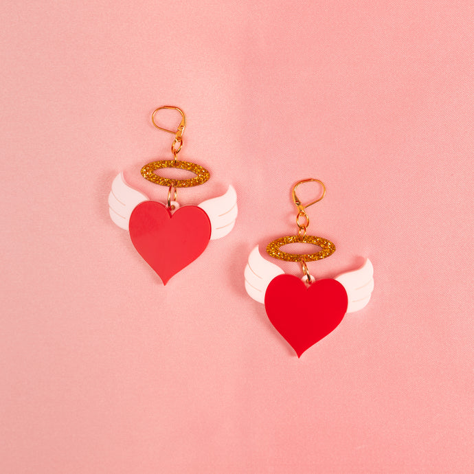 Cupid Dangle Earrings,EarringMindFlowers