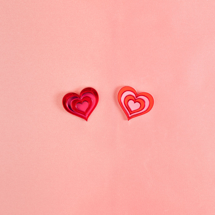Free Love Stud Earrings,EarringMindFlowers