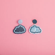 Load image into Gallery viewer, Cloud Nine Hanging Stud Earrings
