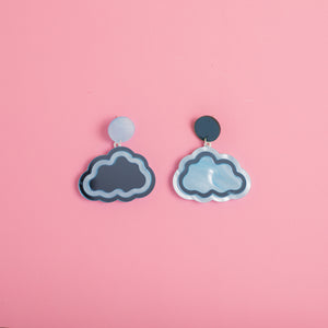 Cloud Nine Hanging Stud Earrings