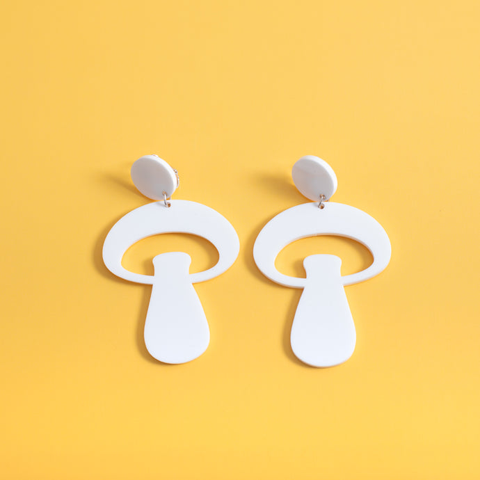 The Alice Mushroom Stud Earrings