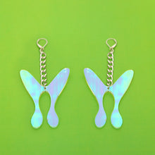 Load image into Gallery viewer, The Nova ButterFly Chain Earrings,EarringMindFlowers