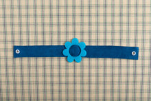 Load image into Gallery viewer, Blue Suede Choker Necklace,ChokersMindFlowers