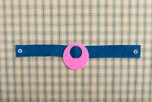 Load image into Gallery viewer, Blue Suede Choker Necklace