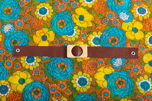 Load image into Gallery viewer, Brown Leather Choker Necklace,ChokersMindFlowers