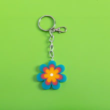 Load image into Gallery viewer, Candy Daisy Keychain,FlairMindFlowers