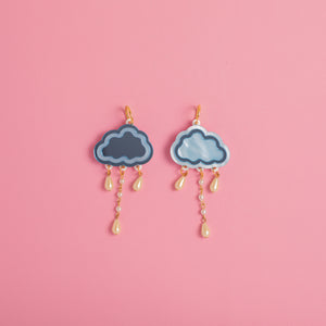 April Showers Hoop Earrings