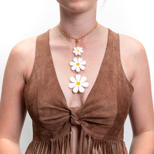 Load image into Gallery viewer, Charlie's Daisies Necklace,Necklace CharmMindFlowers