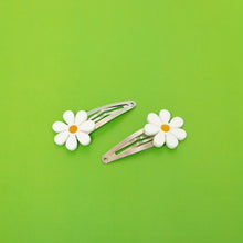 Load image into Gallery viewer, The Baby Daisy Hair Barrettes,EarringMindFlowers