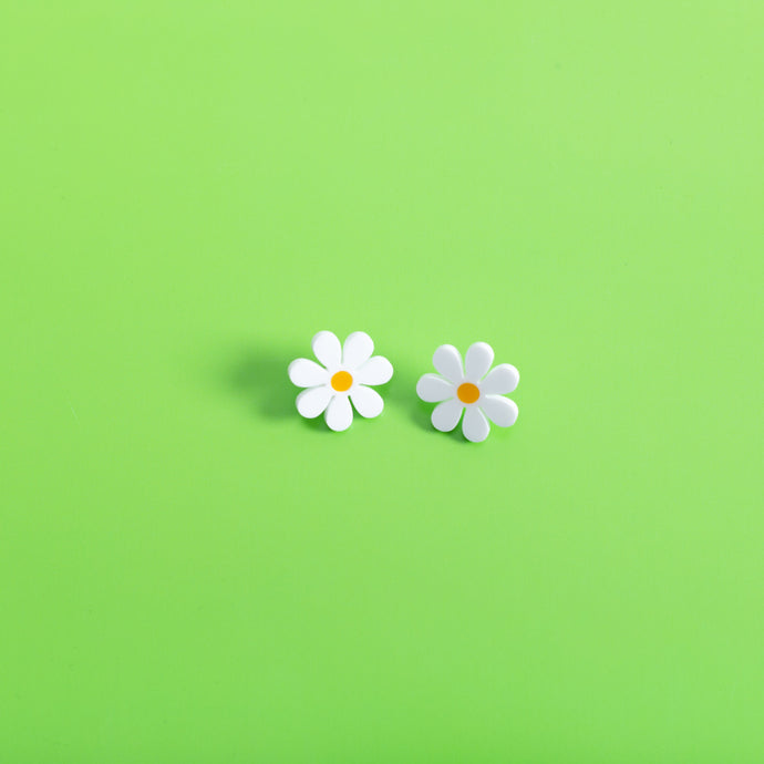 The Baby Daisy Stud Earrings,EarringMindFlowers