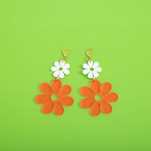 Double Dazey Dangle Earrings, Mindflowers