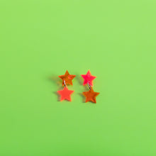 Load image into Gallery viewer, Double Star Stud Earrings,EarringMindFlowers