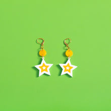 Load image into Gallery viewer, The Mini Seeing Star Dot & Chain Earrings,EarringMindFlowers