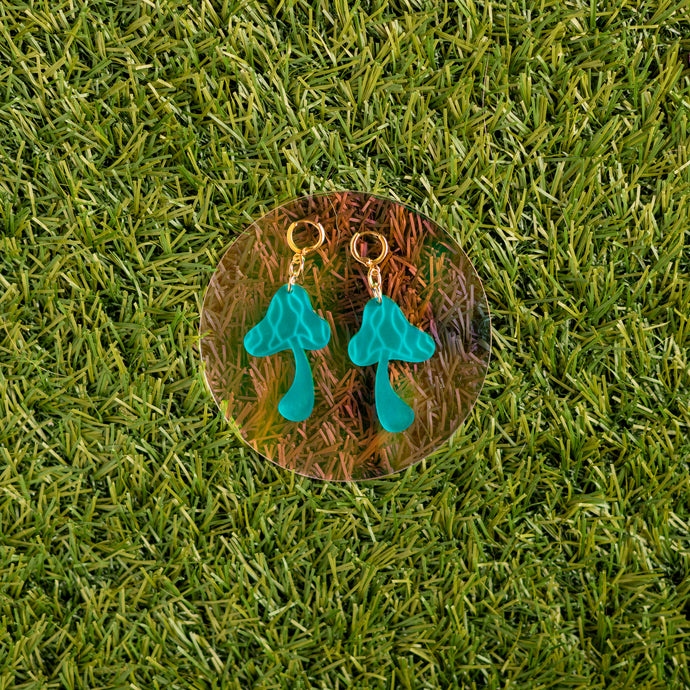 The Groovy Mushroom Dangle Earrings