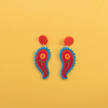 Load image into Gallery viewer, Paisley Kooks Earrings,EarringMindFlowers