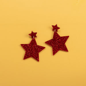 New Killer Star Earrings