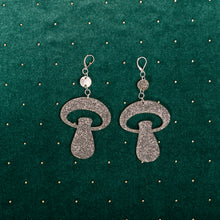 Load image into Gallery viewer, The Alice Mushroom Dot & Chain Earrings